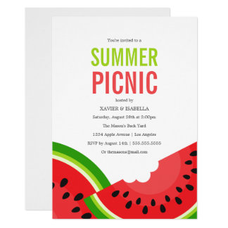 Watermelon | Summer Party Invitation