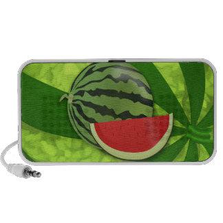 Watermelon Sweet Dessert Melon Park Fun Food Mini Speakers