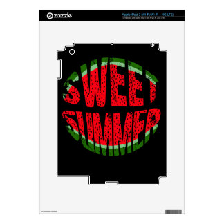 Watermelon - sweet summer decal for iPad 3
