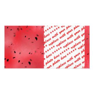 Watermelon Texture Background Card