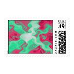 Watermelon theme stamp