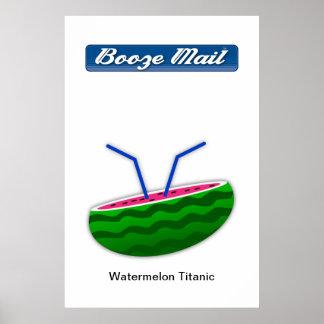 Watermelon Titanic Poster