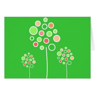 Watermelon Trees Greeting Card - Mod Series
