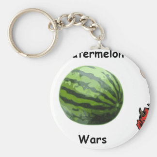 Watermelon Wars Keychain