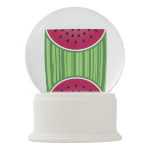 Watermelon Wedge Slice Snow Globe