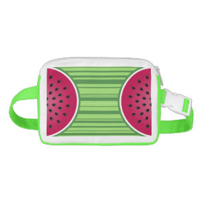 Watermelon Wedge Slice Waist Bag