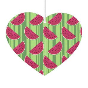 Watermelon Wedges Pattern Air Freshener