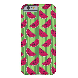 Watermelon Wedges Pattern Barely There iPhone 6 Case