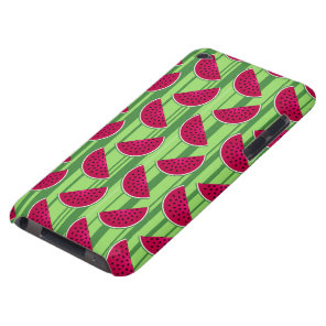 Watermelon Wedges Pattern Barely There iPod Cover
