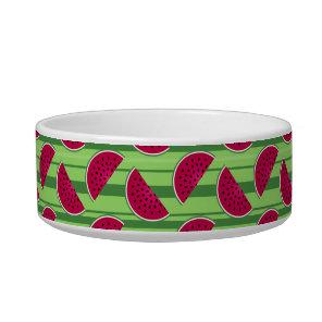 Watermelon Wedges Pattern Bowl