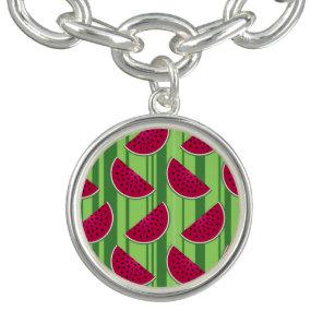 Watermelon Wedges Pattern Bracelets