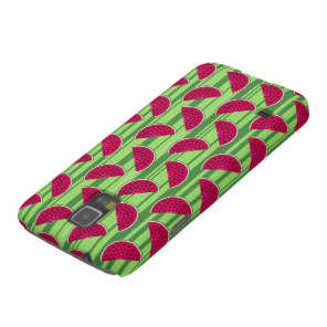 Watermelon Wedges Pattern Case For Galaxy S5