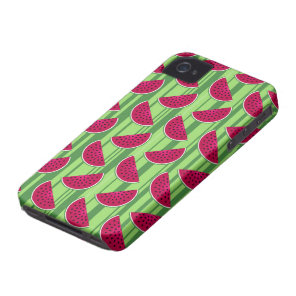 Watermelon Wedges Pattern Case-Mate iPhone 4 Case
