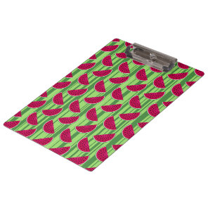 Watermelon Wedges Pattern Clipboard