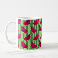 watermelon coffee cup