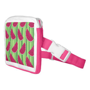 Watermelon Wedges Pattern Fanny Pack