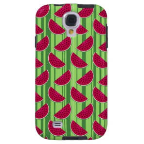 Watermelon Wedges Pattern Galaxy S4 Case