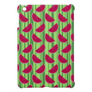 Watermelon Wedges Pattern iPad Mini Covers