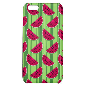 Watermelon Wedges Pattern iPhone 5C Cover