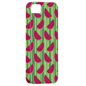 Watermelon Wedges Pattern iPhone SE/5/5s Case