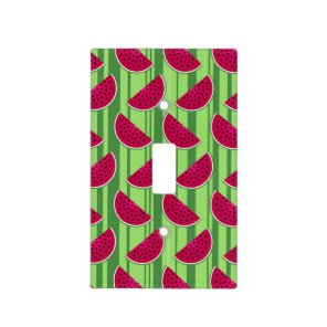 Watermelon Wedges Pattern Light Switch Cover