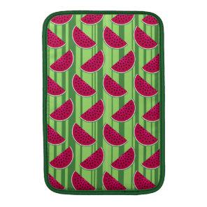 Watermelon Wedges Pattern MacBook Air Sleeve