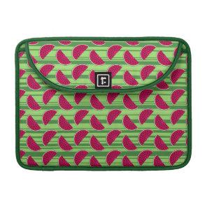 Watermelon Wedges Pattern MacBook Pro Sleeve
