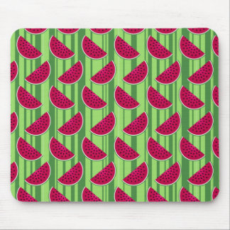 Watermelon Wedges Pattern Mouse Pad