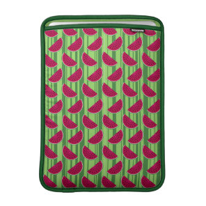 Watermelon Wedges Pattern Sleeve For MacBook Air