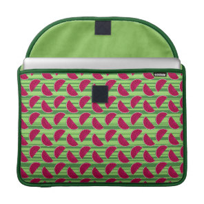 Watermelon Wedges Pattern Sleeve For MacBooks