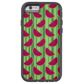 Watermelon Wedges Pattern Tough Xtreme iPhone 6 Case