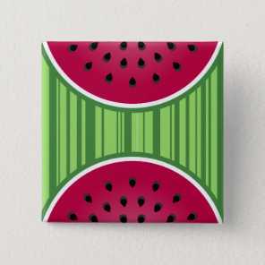Watermelon Wedgies Button