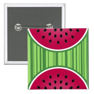 Watermelon Wedgies Button