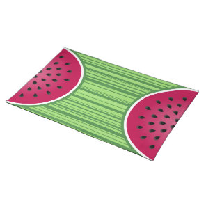 Watermelon Wedgies Cloth Placemat