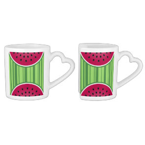 Watermelon Wedgies Coffee Mug Set