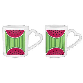 Watermelon Wedgies Coffee Mug Set