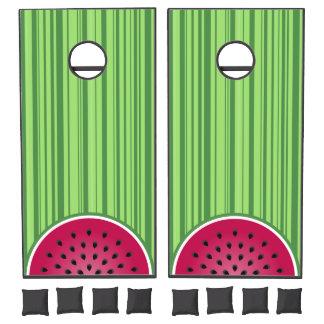 Watermelon Wedgies Cornhole Set
