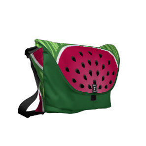 Watermelon Wedgies Courier Bag