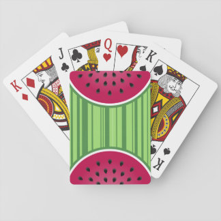 Watermelon Wedgies Deck Of Cards