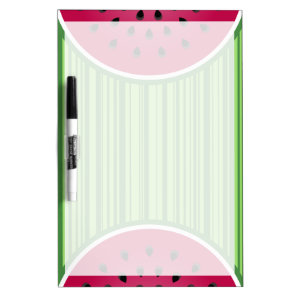 Watermelon Wedgies Dry Erase Board