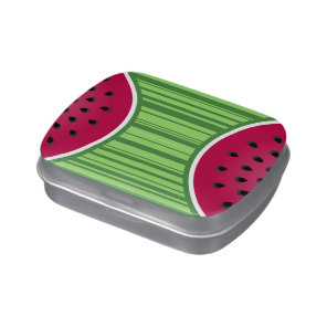 Watermelon Wedgies Jelly Belly Candy Tins