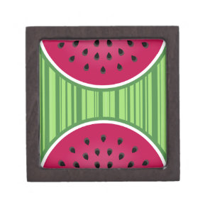 Watermelon Wedgies Keepsake Box