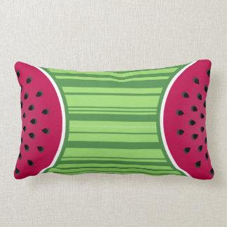 Watermelon Wedgies Lumbar Pillow