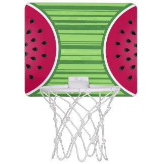Watermelon Wedgies Mini Basketball Hoop