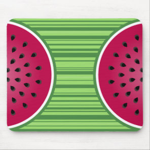 Watermelon Wedgies Mouse Pad