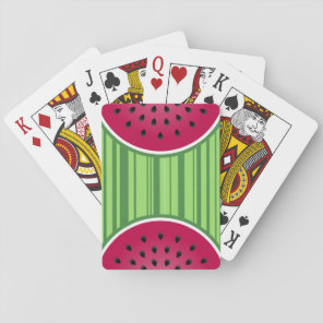 Watermelon Wedgies Playing Cards