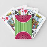 Watermelon Wedgies Poker Cards
