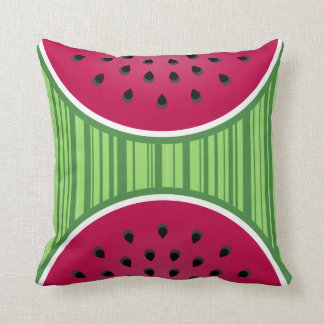 Watermelon Wedgies Throw Pillow