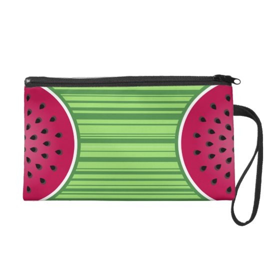 Watermelon Wedgies Wristlet