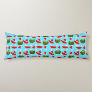 Watermelon With Slice Body Pillow